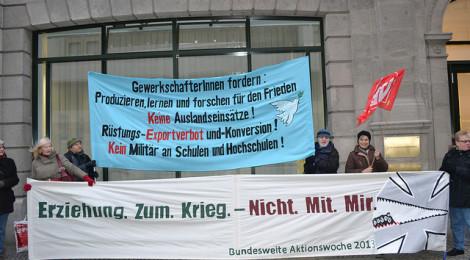 Deutschlands Verantwortung - Stop schleichende Militarisierung