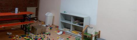 Raum vor dem Umbau