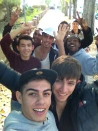 Jugendliche ausÄthiopien, Eritrea, Russland...